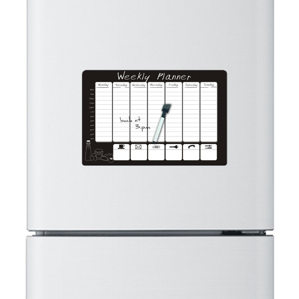 2pcs/lot weekly planner printed Custom fridge magnet ...