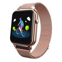 183cac240dea 2019 nuevos deportes reloj hombre Monitorización del ritmo cardíaco reloj  inteligente impermeable relojes reloj marca Bluetooth