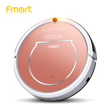 Fmart YZ-Q1 3 in 1 Robot Vacuum Cleaner wet &dry Home Cleaning Appliances Intelligent Robotic Cleaner Vacuums HEPA Filter Brushs
