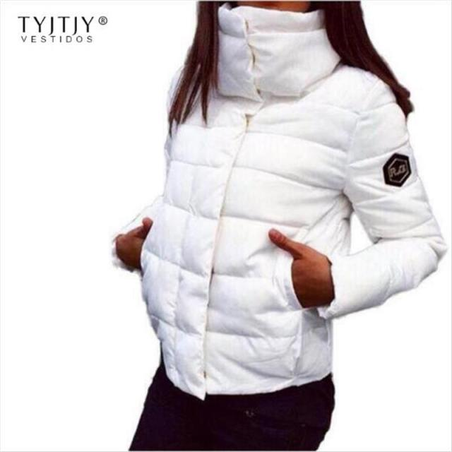 TYJTJY Vestidos Winter Jacket Women 2017 Fashion NEW Women Coat Fashion Autumn Winter Female Warm Jacket Parkas Mujer Vestidos