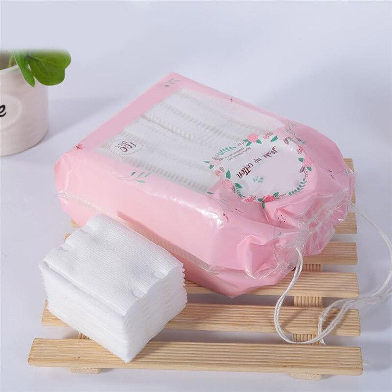 100pcs High Quality Makeup Cotton Cleansing Remover Cotton  2