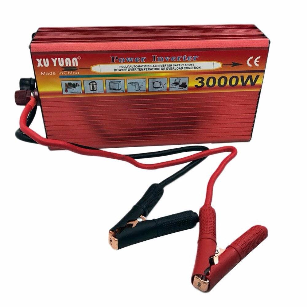 Vehemo 3000 Вт Авто Питание 50 Гц полная защита AC инвертор Зарядное устройство конвертер автомобильный адаптер Электронный Интимные аксессуары