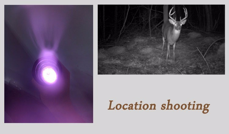 UniqueFire 1504 Hunting LED Flashlight Adjustable 3 Modes 850nm IR LED Torch+Charger+Rat Tail+Gun Mount For Outdoor Camping 11