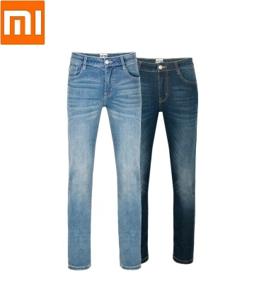 New Xiaomi youpin 99 cotton micro elastic Small straight jeans Fashion trend Slim woman jeans Spring