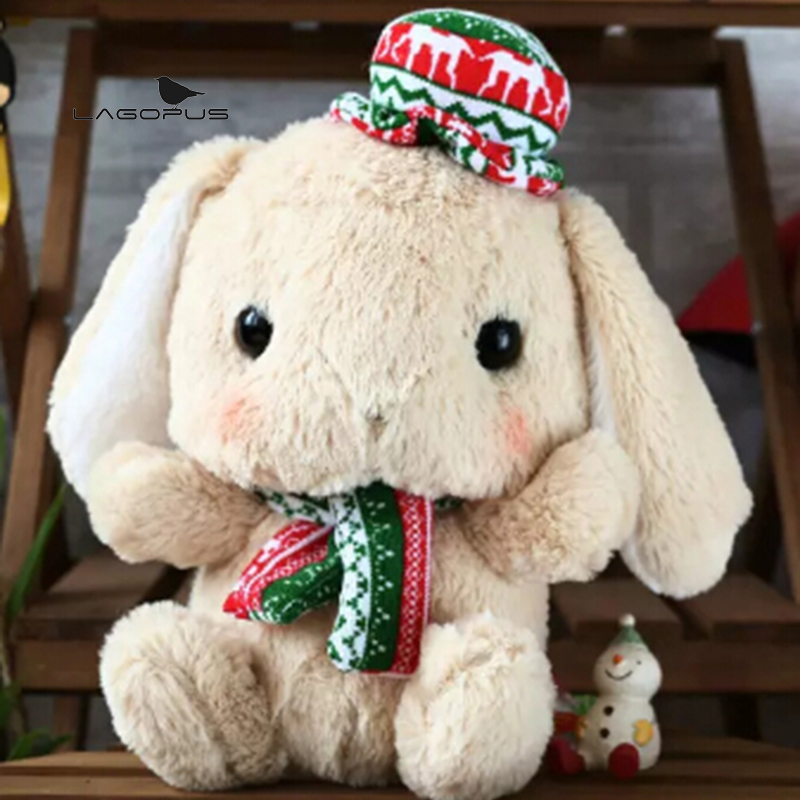 Rabbit Doll Bunny Plush Cartoon Toys Cute Stuffed Plush ...
