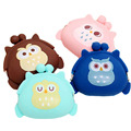 candy color owl bunny cat silicone coin purse kids gift cartoonTrendy baby Mini coin bag lady change purse women smart wallets