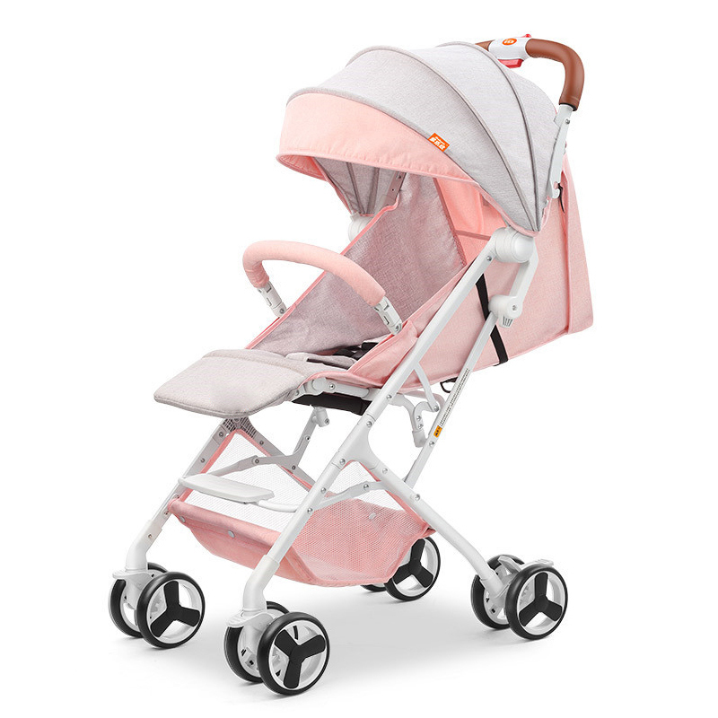 все цены на 2018 New Baby lightweight strollers 2 in 1 aluminum alloy outdoor traveling baby buggy онлайн