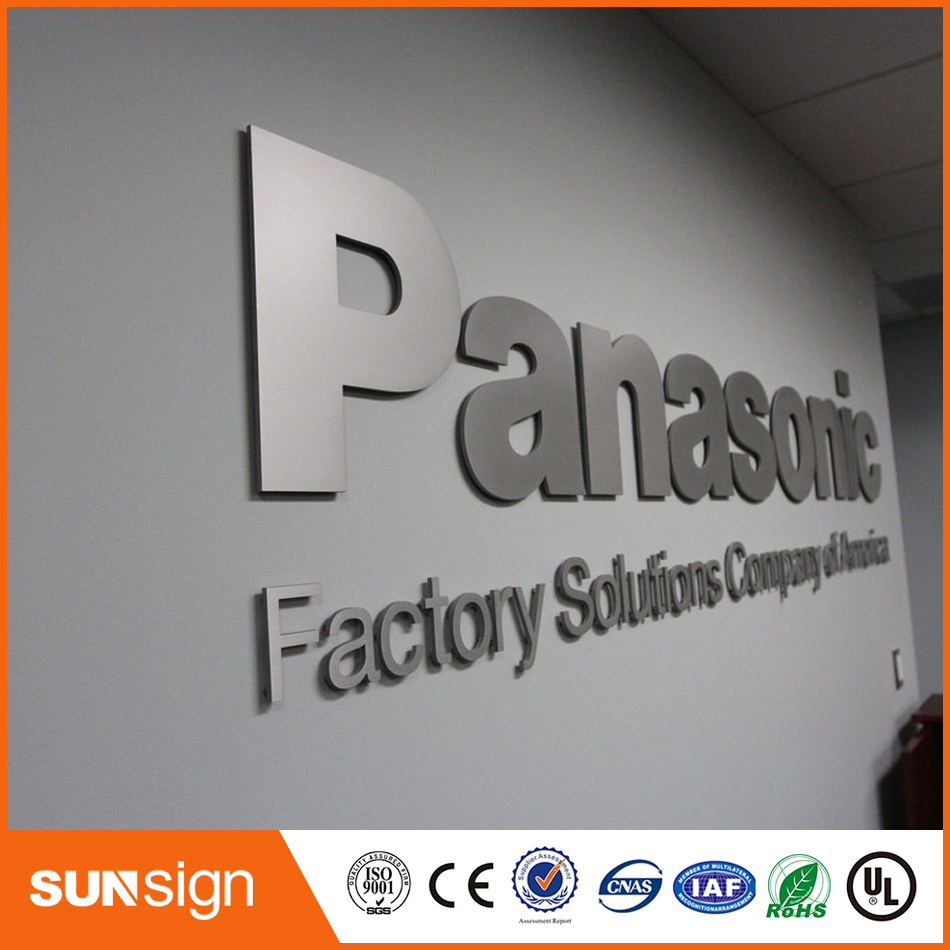 Customized Mirror Polished Stainless Steel Channel Letter