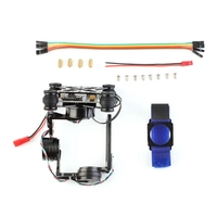 FPV Lichtgewicht 3 Axis Borstelloze Gimbal 32 bit Storm 32 Controlller Gimbal Gopro3 Gopro4 Fittings voor RC Drone Onderdelen