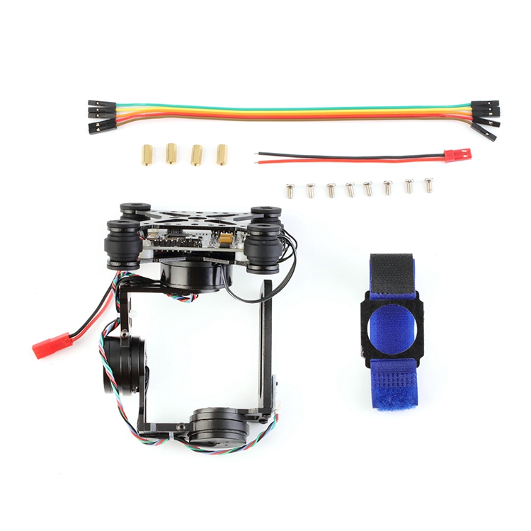 FPV Lightweight 3 Axis Brushless Gimbal 32 bit Storm 32 Controlller Gimbal Gopro3 Gopro4 Fittings for RC Drone Parts gopro3 lightweight 2 axis brushless gimbal board with sensor free debug for fpv airplane rc quadcopter frame racing drones