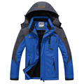 Top Quality Large Size Waterproof Windproof Outwear Jacket Professional Warm Fleece Winter Jacket Men Parkas Size L-4XL