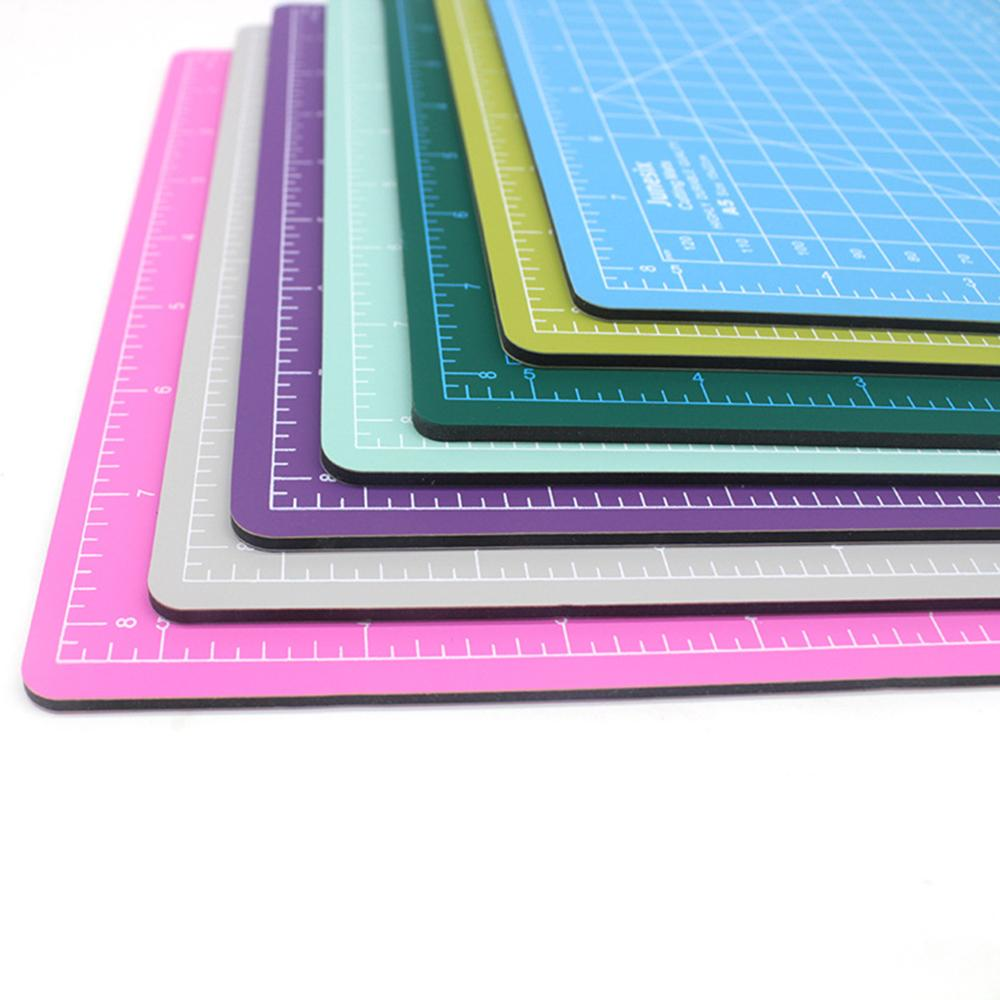 A5 Cutting Board Manual Model Multi-Purpose Model Cutting Pad Rubber Stamp Engraving Pad Measuring Scale Board For Office Study