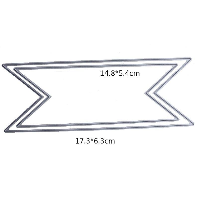 Купить с кэшбэком WYSE Big Bow tie Die Oval Polygonal Metal Cutting Dies Scrapbooking Craft Die Cuts stencil decorative for paper card making
