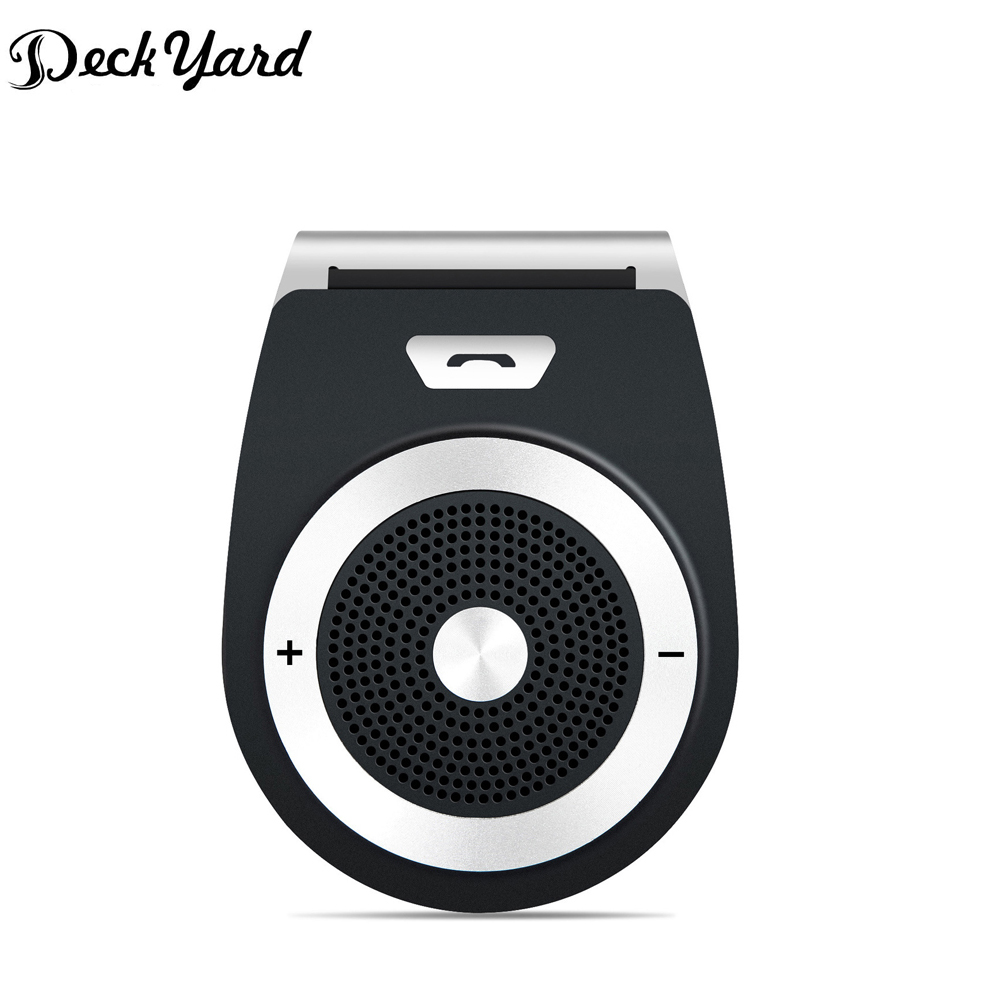 DeckYard Bluetooth Car Kit Altoparlante Vivavoce Bluetooth 4.1 EDR Ricevitore Musicale Bluetooth In-car Wireless Car-kit vivavoce