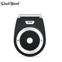 DeckYard Bluetooth Car Kit Hands Free Speaker Bluetooth 4 1 EDR Music Receiver Bluetooth In Car