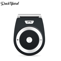 DeckYard Bluetooth Car Kit Hands Free Speaker Bluetooth 4 1 EDR Music Receiver Bluetooth In Car