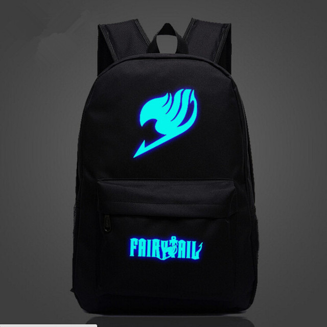 Fairy Tail Naruto Harajuku Printing School Bags