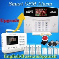 Hot selling free shipping wholesale wireless pstn gsm alarm system 433mhz home burglar security alarm system.jpg 200x200