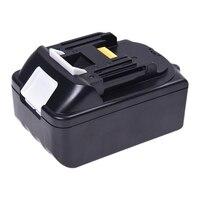 ABKT Replacement Power Tool Battery for Makita BL1830 2 18V 3.0 Ah Black