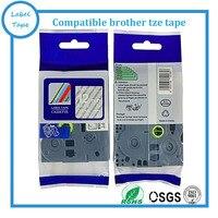 Tze135 Tze-135 Tze 135 12mm cinta para TZ hermano Compatible P touch blanco en claro tze cinta