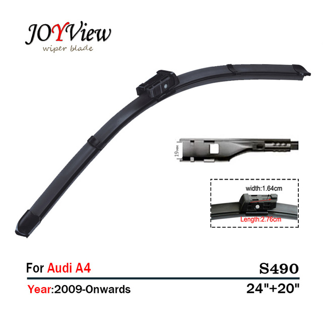 Aliexpresscom Buy S Wipers SizeFit For Audi A - Audi a4 windshield wipers