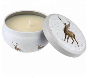 Tanie DIY świeca sojowa słoik cynowy 8oz bezszwowe puszki na świeczki