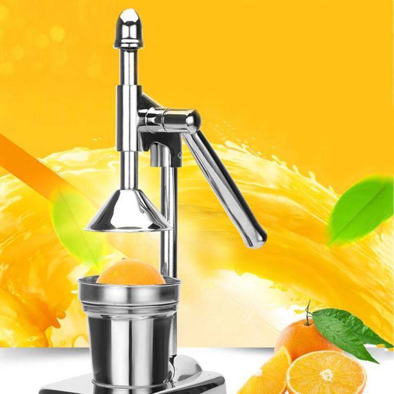 Orange manuelle lemon entsafter granatapfel entsafter hand druck citrus saft maschine edelstahl entsafter exprimidor de naranja