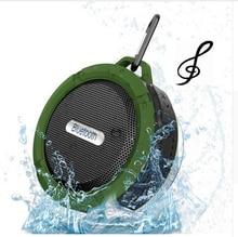 цена на mini bluetooth speaker waterproof portable wireless Speakers C6 outdoor/indoor fashion portable speaker handsfree music player