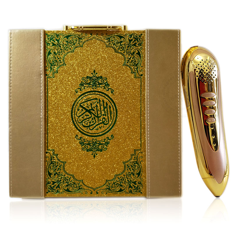 Muslim Digital Holy Book Reading Pen Set Islamic Reader For Arabic Learner With Reciters Malaysian Urdu Turkish Russian Uzbek