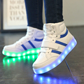 New Summer Winter Children Led Usb Luminous Lighted Shoes Fashion Sport sneakers for Kids Running Boys Casual Girls Flats boots
