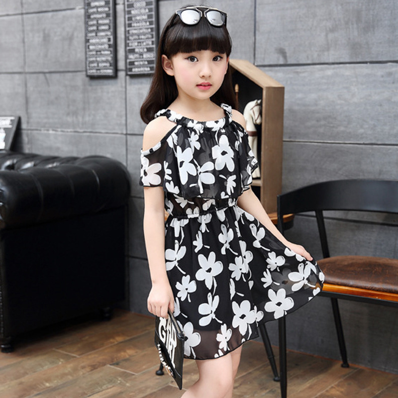 366646309c79a big girls chiffon dress teenagers dress little girls dresses summer 2018  kids girl clothes size for
