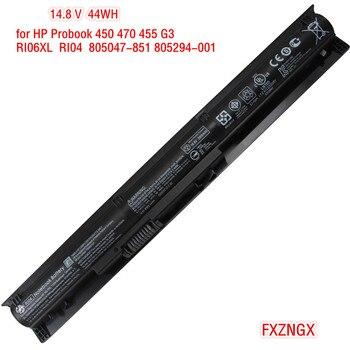 44Wh Genuine RI04 Battery for HP ProBook 450 455 470 G3 series RI06XL HSTNN-DB7B HSTNN-PB6Q HSTNN-Q94C 805294-001 805047-851