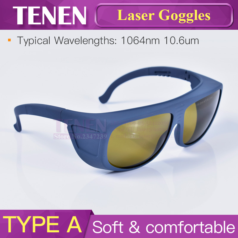 Image 3 - 1064nm 10600nm Laser Safety Goggles Protective Glasses Shield Protection Eyewear For YAG Fiber CO2 Laser Cutting Welding Machine-in Woodworking Machinery Parts from Tools