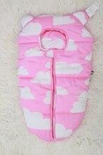 24 цветов Детские Спящий медведь pattern Детские Конверт Мешок Сна Ватки Младенец Держит для Коляски Одеяло Пеленание Младенца 0-6 М