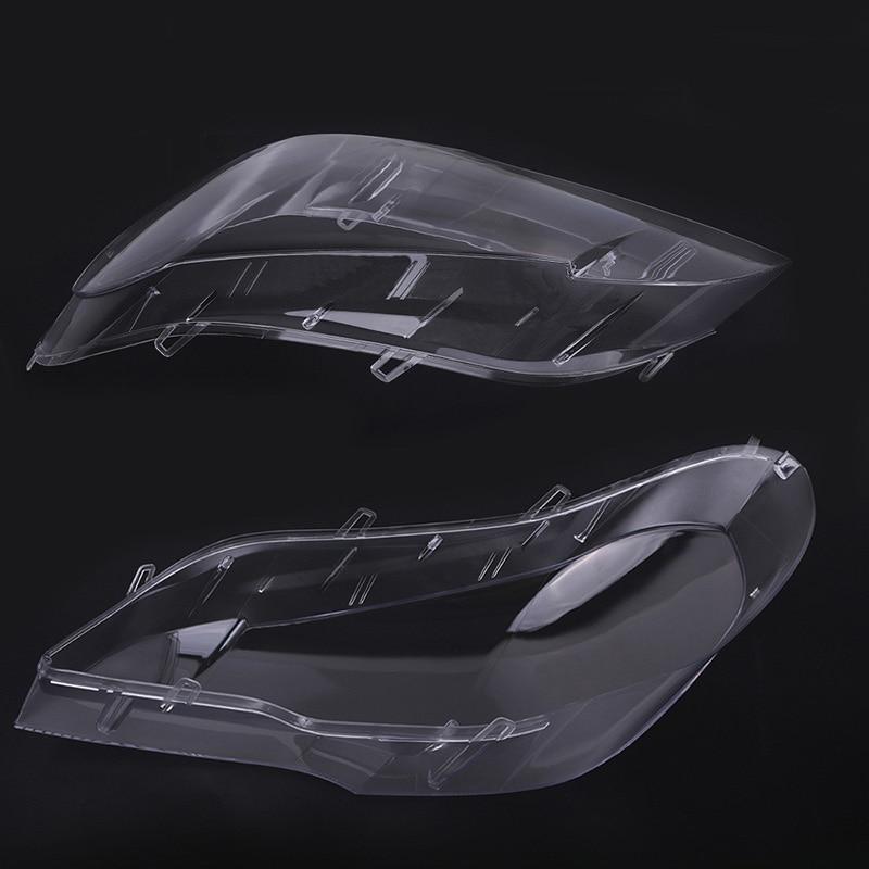 Nouveau 1 pc phare lentille abat-jour couvercle remplacement pour BMW E70 X5 08-13