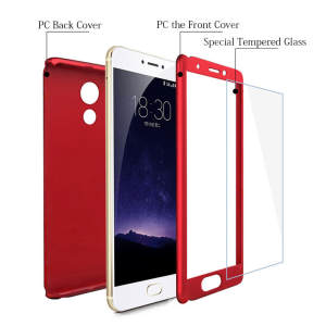 WeeYRN M6S 360 Degree Cover Luxury Hard Plastic Matte Case