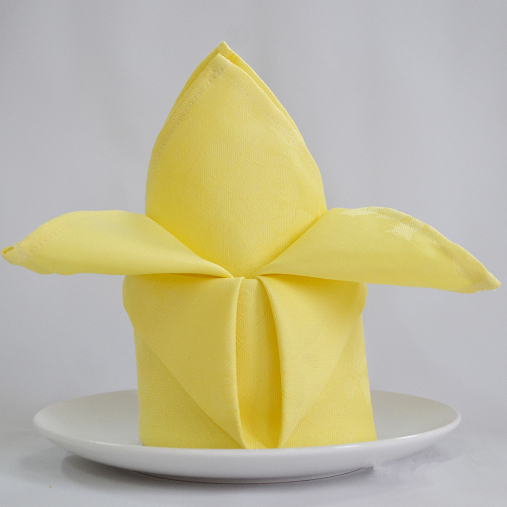 Aliexpress Buy 5pcslot I Cloth Color Cotton Flower Napkin