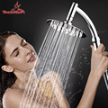 4 /6/8 luxus Edelstahl Ultra-Dünne Große Regen Dusche Kopf Badezimmer Showerhead hochdruck Hand Dusche kopf