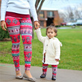 Family Matching Fashion Leggings Family Set Christmas Mother/Mom and Daughter Pants Clothes Family Clothing Parent-Child Set WT8
