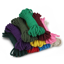 width 6mm Horn buckle cotton rope coat olive accessories diy material button thread hand-woven beam drawstring