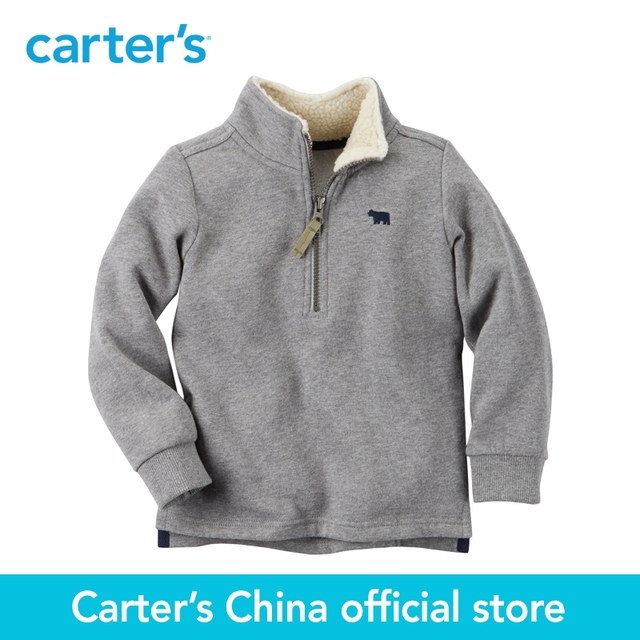 Carter's/1 шт. для маленьких детей Детские Half-Zip Jacket 243G595 продается из официального магазина Carter's в Китае