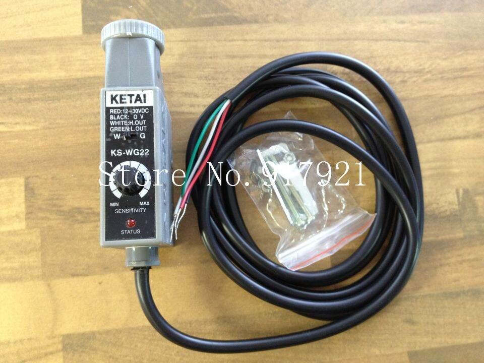 [ZOB] KETAI KS-WG22 color sensor photoelectric switch double color  --5pcs/lot e3x da21 s photoelectric switch