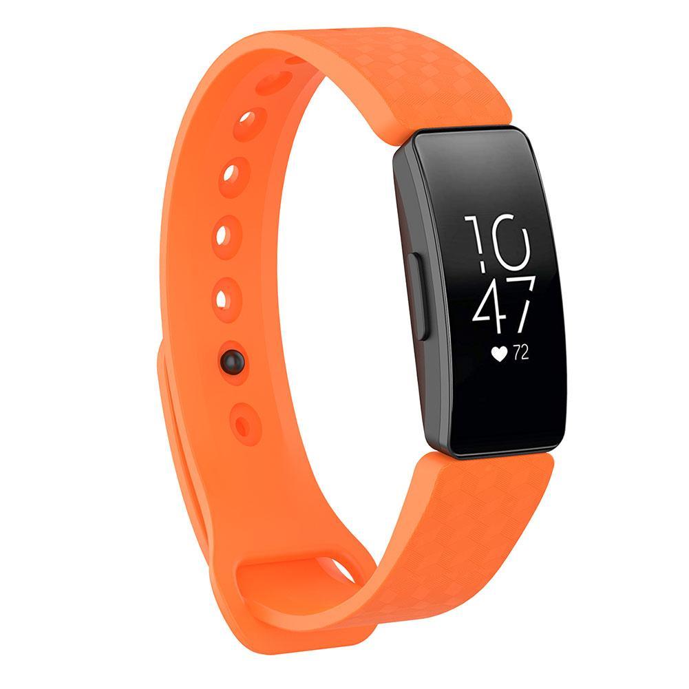 Image 5 - 3D текстура мягкий силиконовый браслет спортивные часы браслет ремешок 3D текстура стереоскопические визуальные эффекты для Fitbit Inspire-in Умные аксессуары from Бытовая электроника