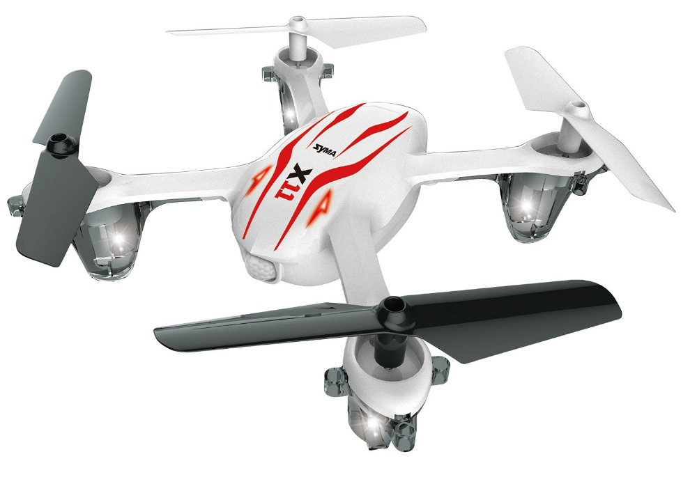 Syma X11 GYRO 2 4G 4CH 6 Axis Mini RC Helicopter Radio Control UFO Quadcopter Quad