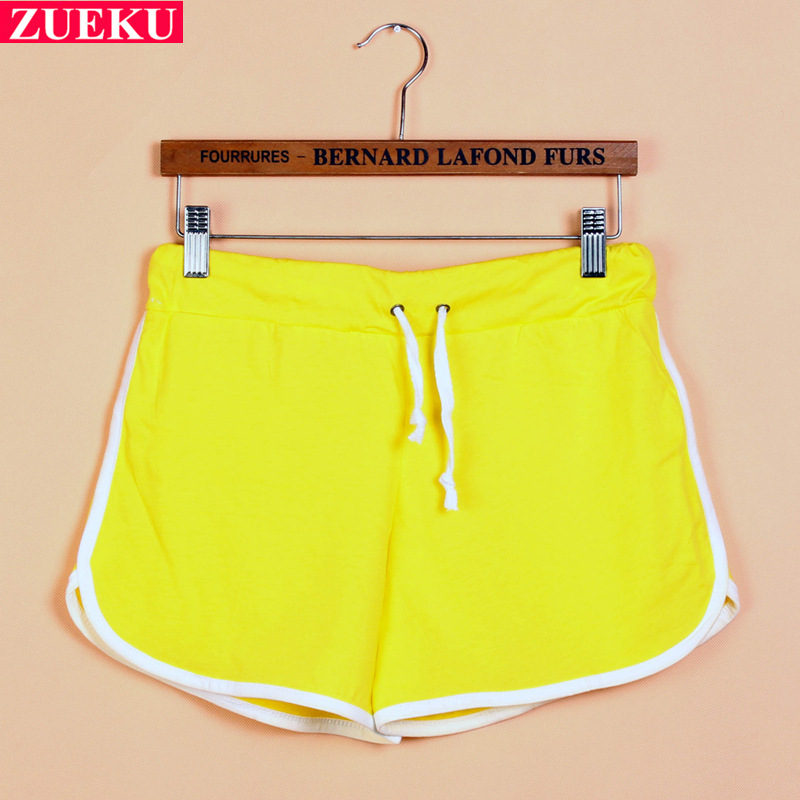 New 2015 summer shorts women street style plus size cotton hot ...