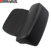 Motorcycle Black Razor Chopped Tour Pak Backrest Pad For Harley Touring Road King Glide 2014 2015 2016 2017 2018
