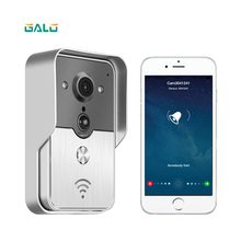 купить!  WiFi Смарт Беспроводная Безопасность DoorBell HD 720 P Видеодомофон Запись Видео-Телефон Двери
