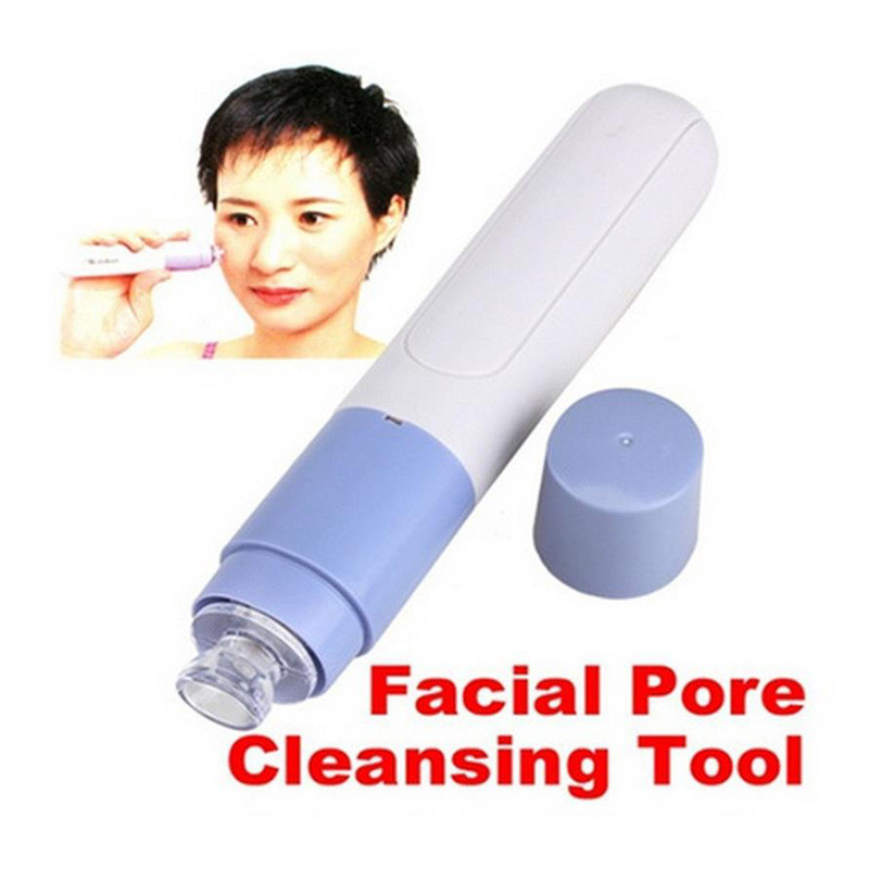 1pc Handheld Electric Blackhead Remover Cleaner Vacuum Suction Facial Blackhead Removal Cleansing Skin Care Cosmetic ja30ja4