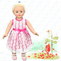 """hot 2016 new style Popular 18"""" 45cm American girl doll clothes accessories/Dress Up every family had to give the girl a gift"""