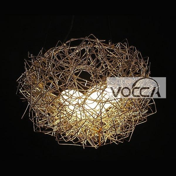 New design 3 eggs pendant lights aluminum wire birds nest new design 3 eggs pendant lights aluminum wire birds nest chandelier ceiling light pendant lamp lighting mozeypictures Images